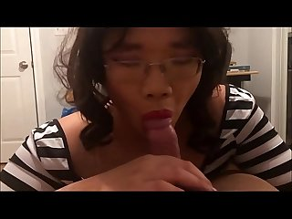 Asian Tranny Escort Jae Anal Fucked and Cum on Ass