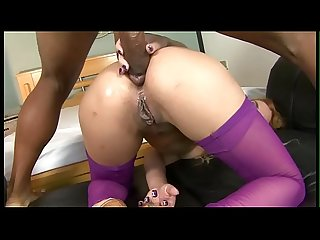 She wants to fuck anally with a Latino man