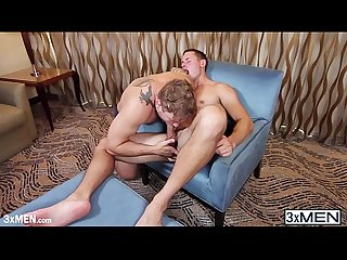 Swimming buddies brenner bolton and colby jansen pampered each other ass