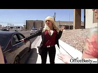 (kagney linn karter) Horny Busty Office Girl Enjoy Hard Sex Action mov-19