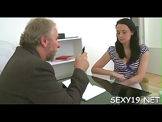 Old teacher is having enjoyment fucking youthful babe's chaste twat