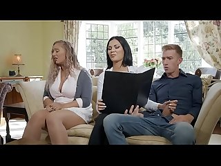 Jasmine jae in tea and crump tits full on zzerz com