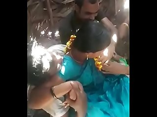Indian Aunty enjoying with guys in public