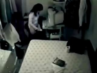 My mum home alone masturbating at pc period hidden cam