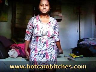 Dark Indian villiage girl with saggy tits stripping hotcambitches.com
