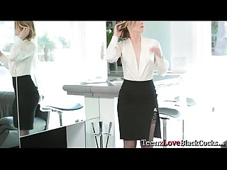 Sexy hot Ella Nova uses her sexy body to get her client