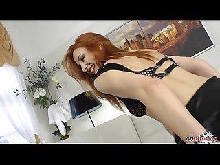 Sexy redhead eva berger