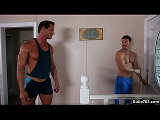 Alex Cox & Trstan Jaxx get hot after a nice Jog!