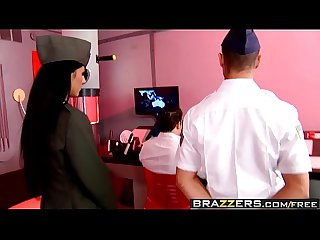 Brazzers - Big Tits In Uniform - The Cunt for Red October scene starring Brenda Black and Bruno
