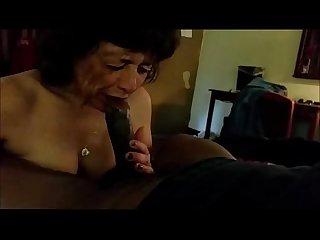 Granny sucks a Bbc