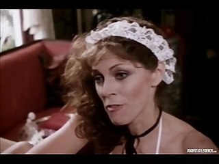 Classic pornstar legend Annette Haven giving a blowjob
