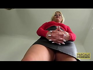 pascalssubsluts - MILF Kelly Cummings fed Cum après battant