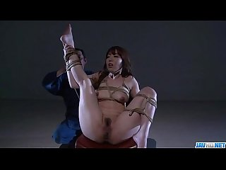 Strong scenes of pure bondage with rina uchimurav