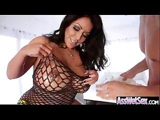 kiara Mia Big oiled butt Girl enjoy deep Anal hard Sex act mov 16