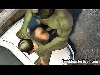 Foxy 3d babe gets fucked by the incredible hulk high 2