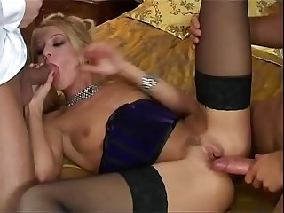 Highclass women wants to be slammed by two cocks Vol. 4