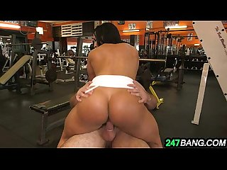 Tight body builder pussy becca diamond fucked hard 8