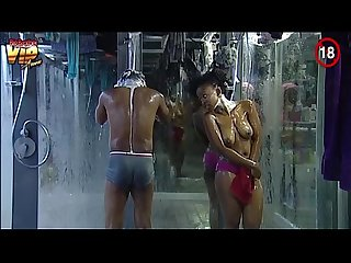 Big brother africa Nude shower hour day25 goitse sipe trezagah