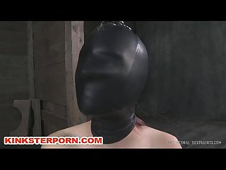 Fetish gimp slave in chains
