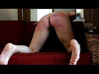 Hard belt spanking 2