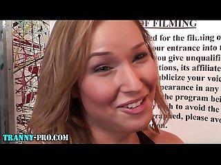 Tgirl prostitute cum soak