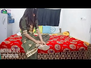 Horny bhabhi gets her pussy Creampied