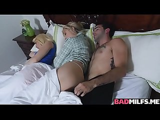 Freaky family threesome