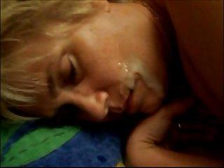 Schlafende mundfotze