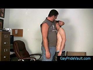 Twink gets rimmed and fucked by Bear 1 by gaypridevault