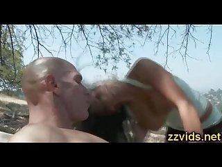 Audrey bitoni hot outdoor fuck