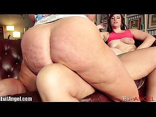 Evilangel big assed lesbian milfs fisting threesome