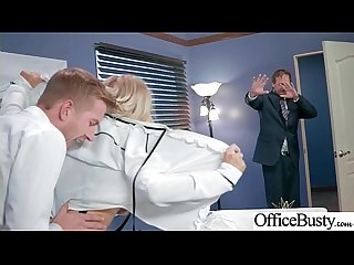 Office Big Tits Girl (Alix Lynx) Realy Love Hard Baning clip-03