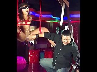 Sex machine en publico