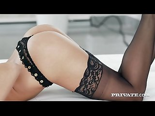 Private period com gorgeous brunette amirah adara is anal banged excl