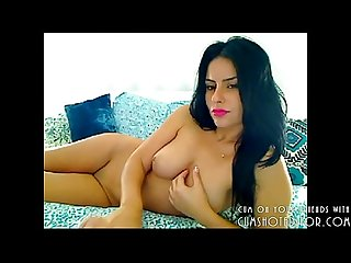 Hot arab lebanese amateur showing what she s got