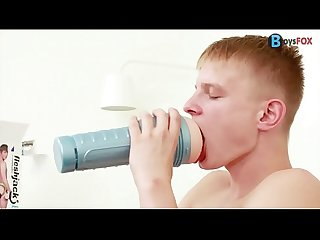Military Boy Kenton Fucks a Fleshjack