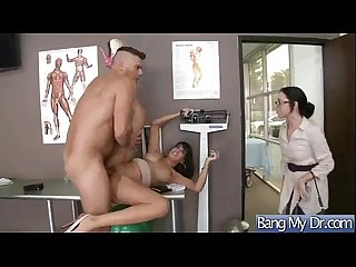 Appointment at doctor end with a bang for horny slut patient mercedes carrera mov 14