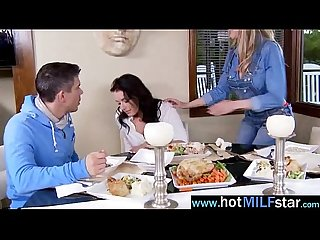 Sex Acrion With Hungry For Big Cock Mature Lady (brandi love) clip-11