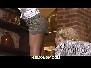 Hot mom seduces her son s gf