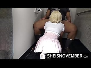 Big Red Lips Mouth Watering Blowjob Suck By Innocent Young Ebony Spinner Msnovember Loving Ever..
