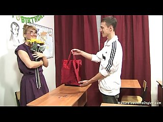 Russian mature teacher 11 elise teacher S day