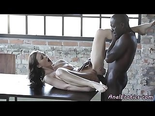 Busty eurobabe assfucked deeply by bbc