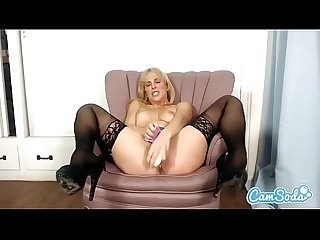 Cherie deville big tits Milf Fucking and sucking dildo