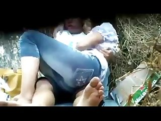Myanmar spying young couple outdoor sex 4