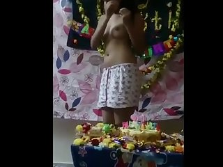 Priti fuck by sunny on 18th birthday