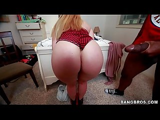 Aj applegate loving this thick monster