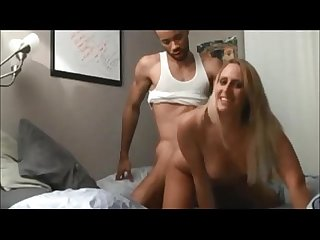 Amateur interracial ass fuck