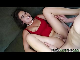 Teenage latina creampie