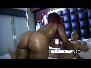 sexy phatt booty nina rotti banged doggy style bbc