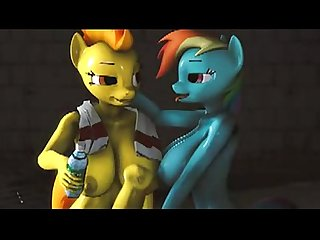spitfire vs rainbowdash pesta screwingwithsfm